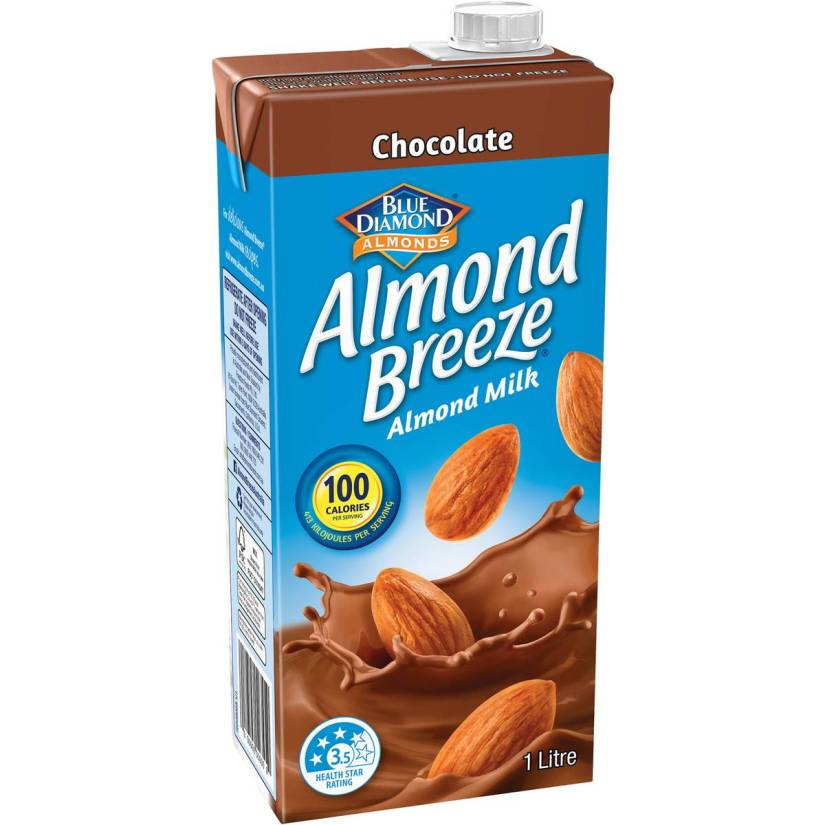 almond breeze chocolate milk