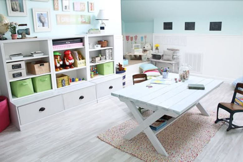 PERFECTLY IMPERFECT PLAYROOM AFTER 2